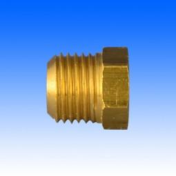 "Messing-Überwurfschraube, 1/2""-20UNF, 14,25 mm lang"
